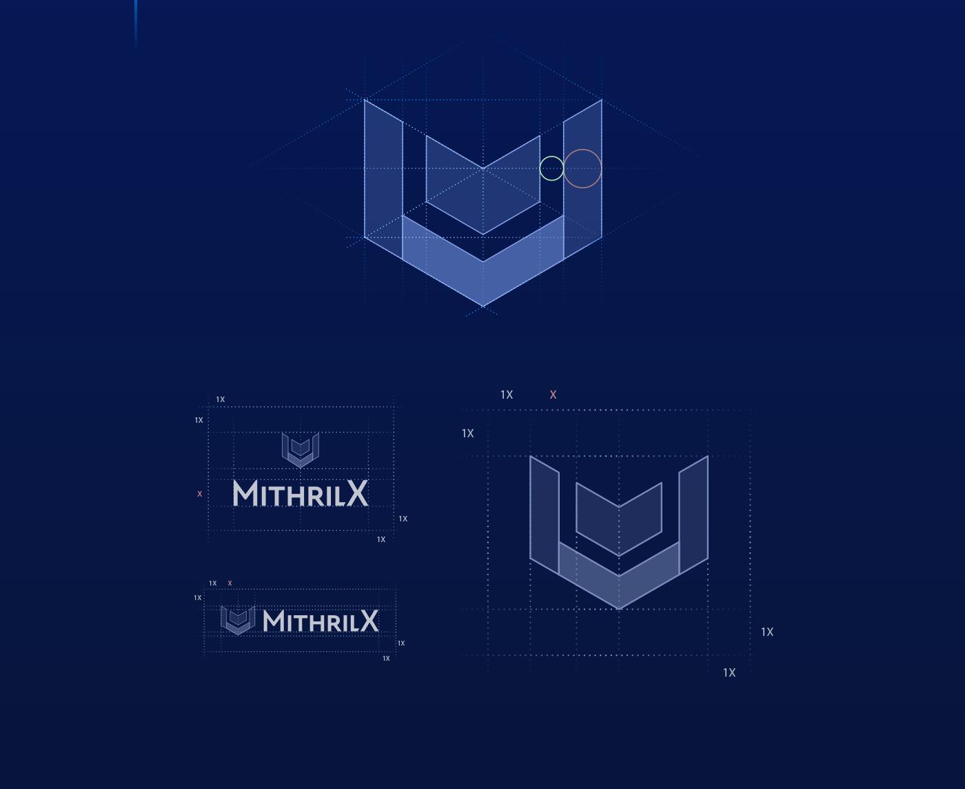 mithril x logo construction