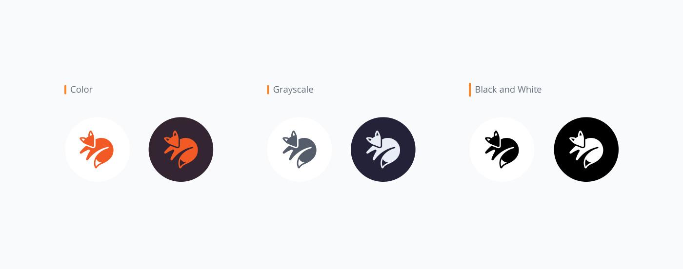 kitsu color logo options