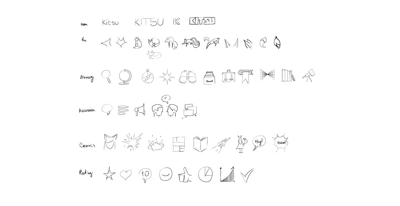 kitsu sketches