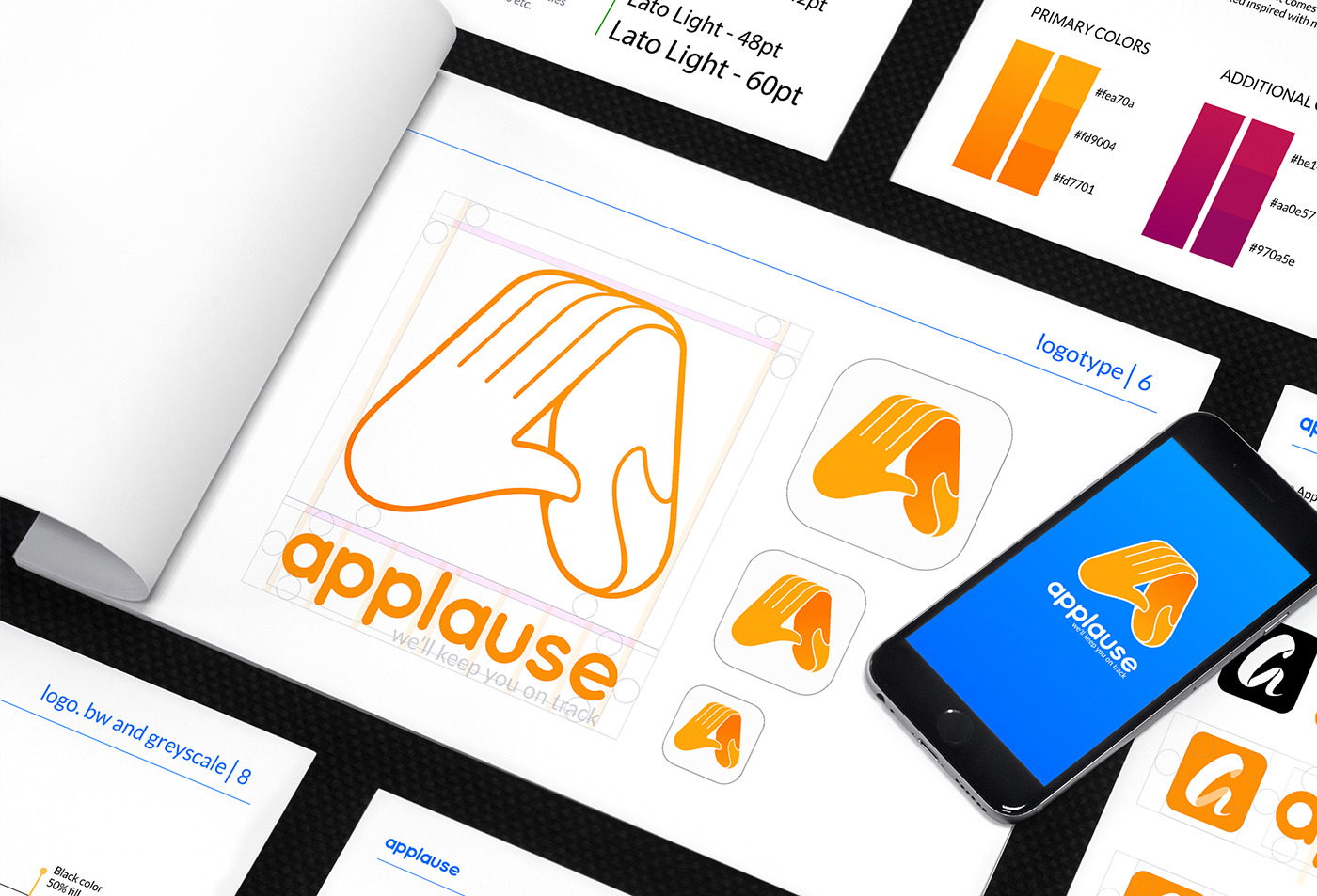applause style guide