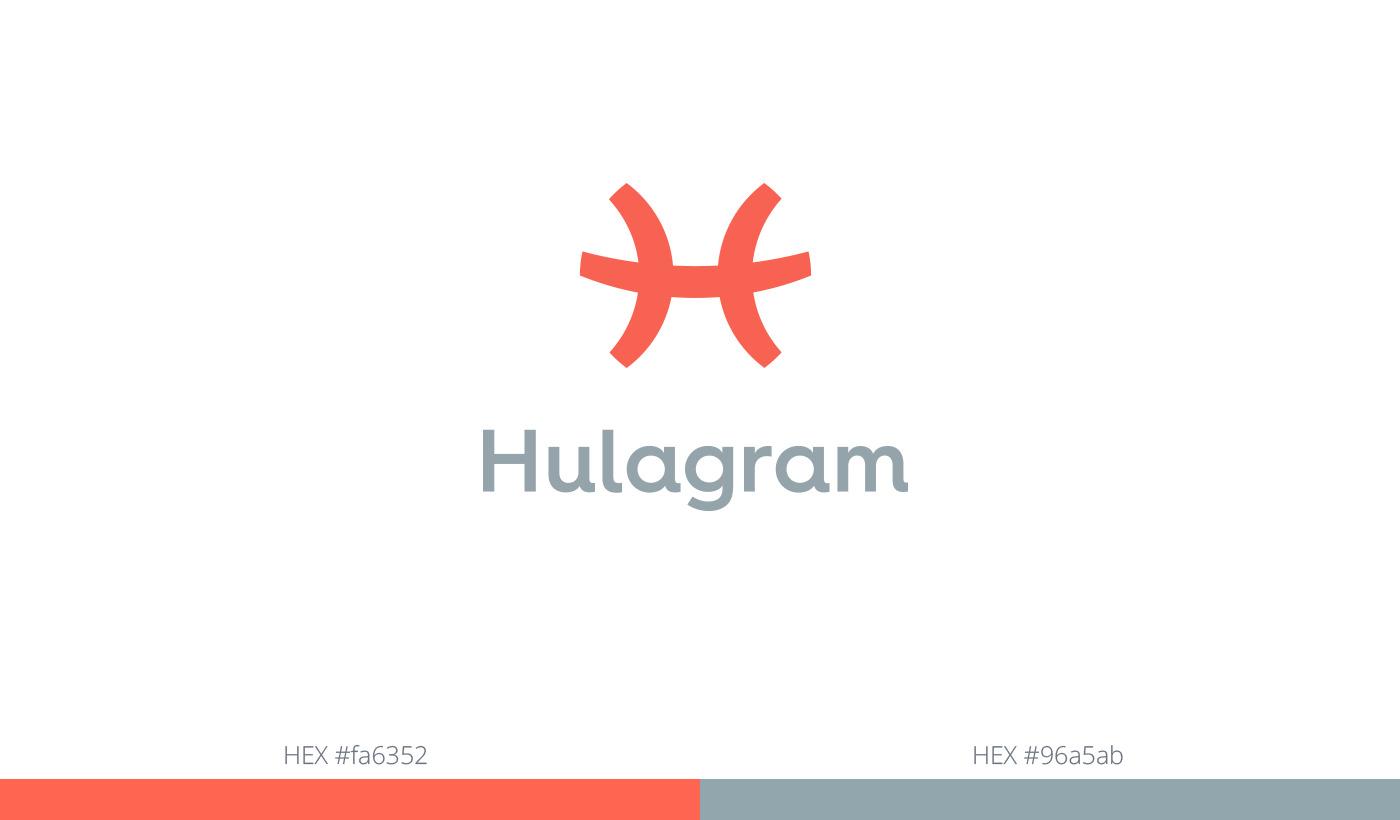 hulagram logo grid