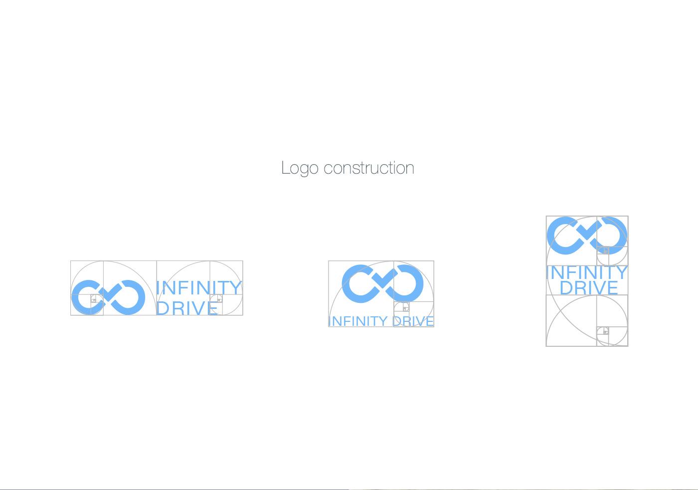 infinity drive logo construction