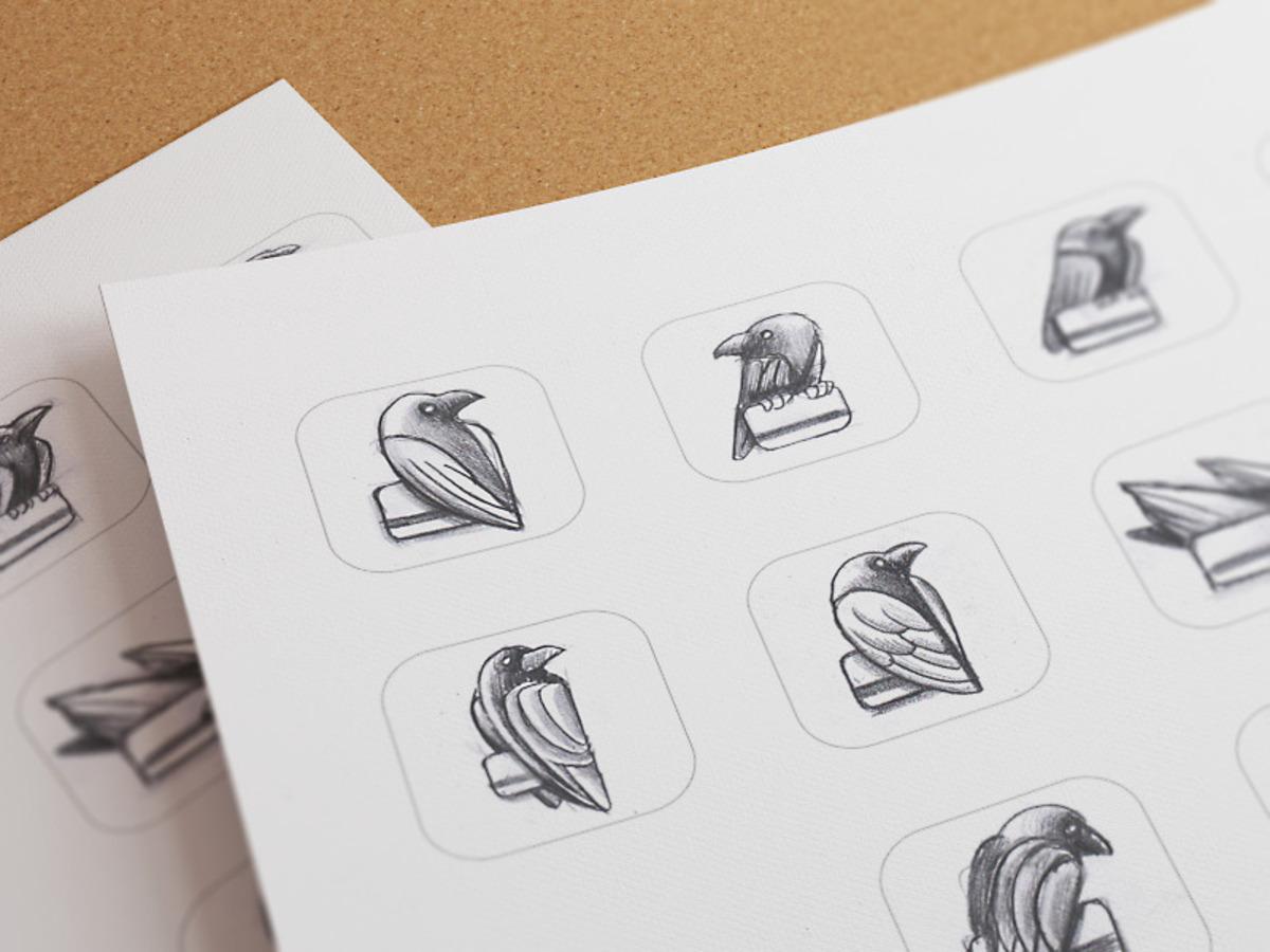 raven app sketches