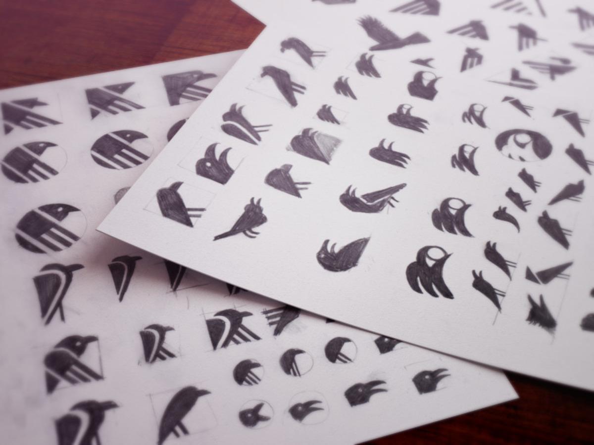 raven sketches