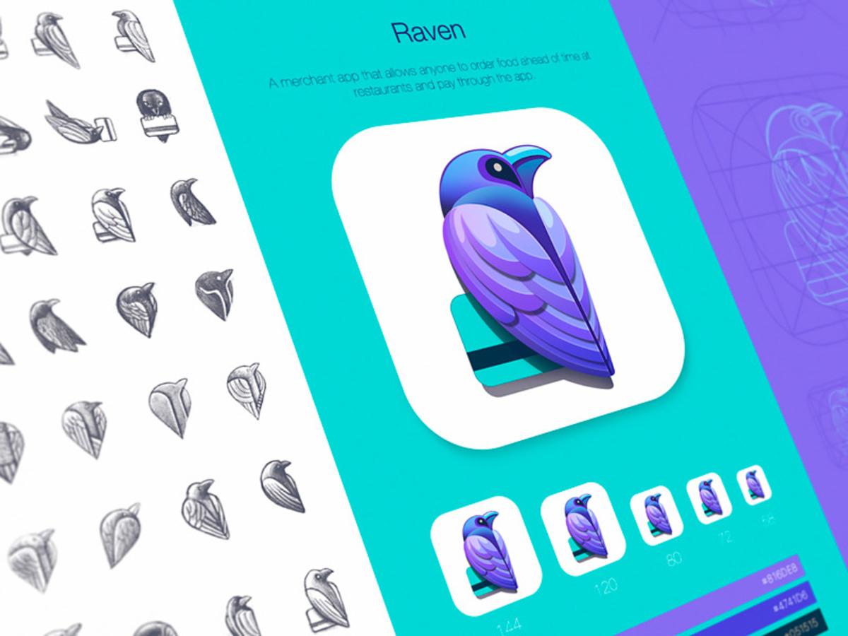 raven product identity design