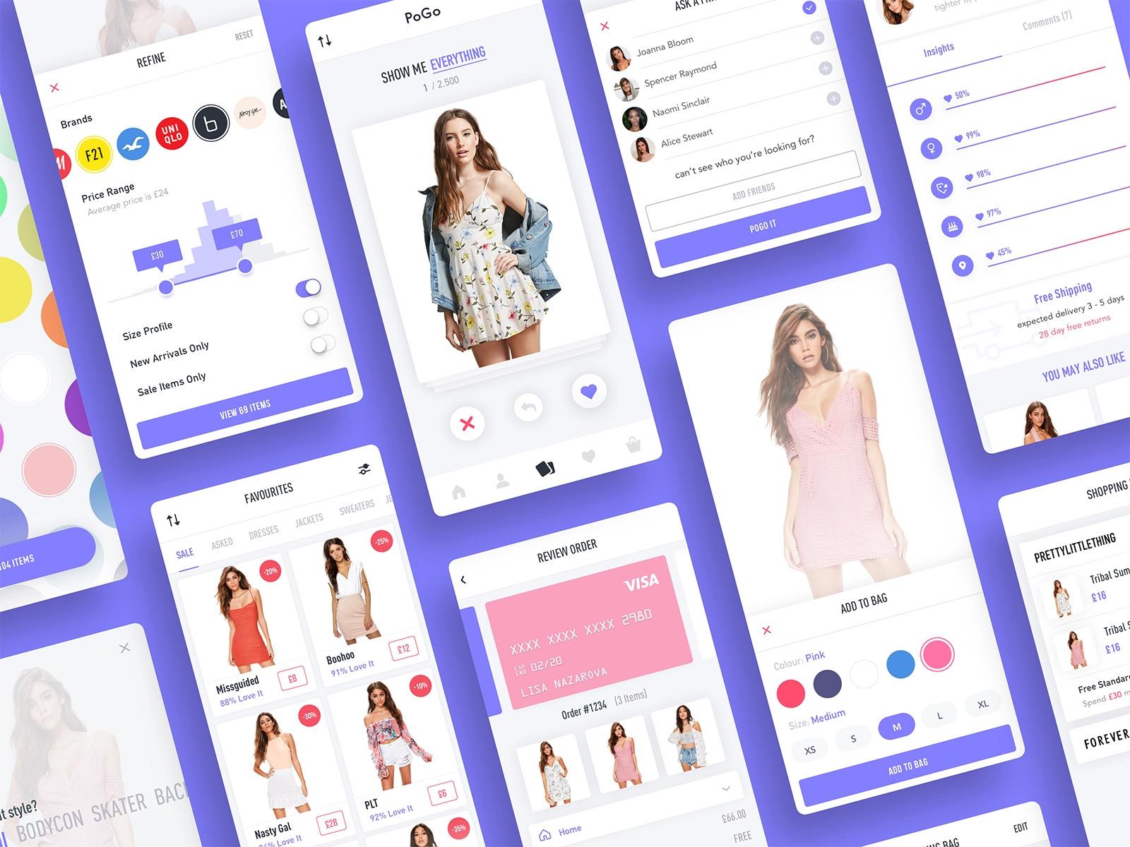 Pogo App Mobile User Interface