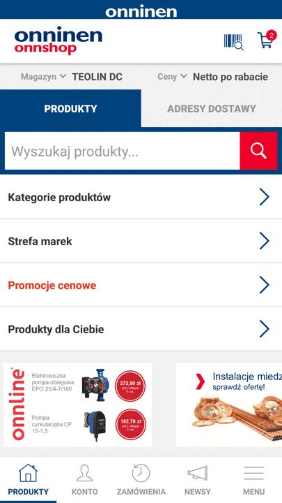 Strona główna OnnShop Mobile
