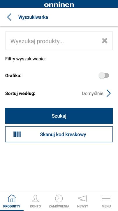 Wygodna wyszukiwarka OnnShop Mobile