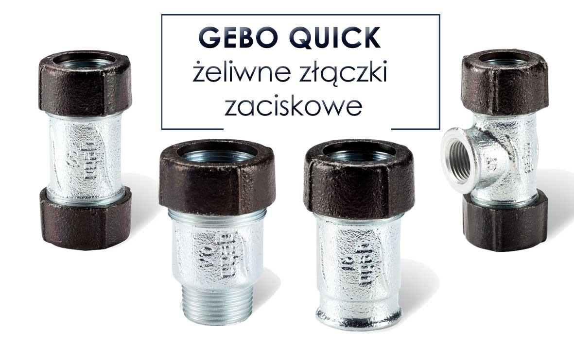 Złączki zaciskowe GEBO Quick