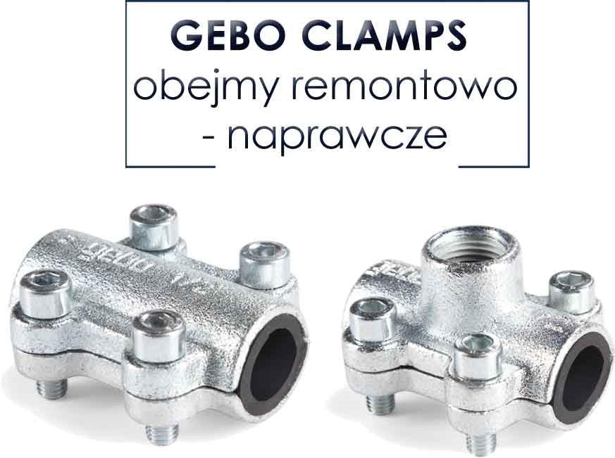 Obejmy remontowo-naprawcze GEBO