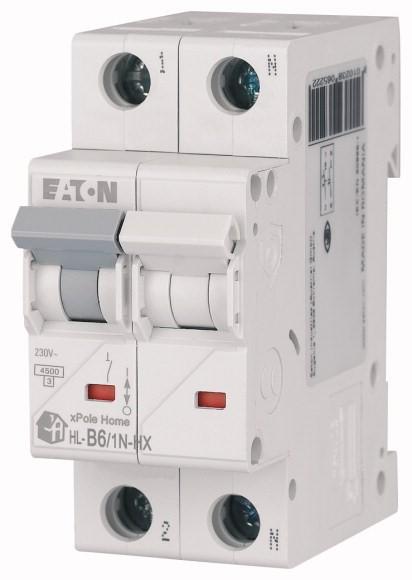 Wyłącznik nadprądowy Eaton HN-B6-1N - Onninen