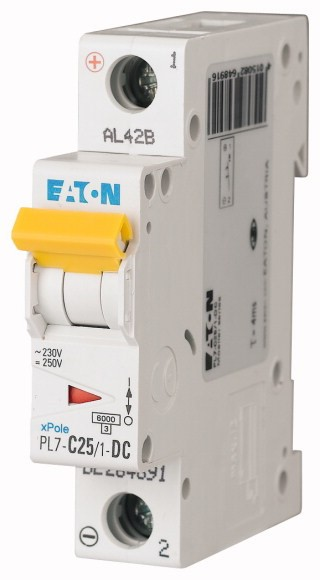 Wyłącznik nadprądowy Eaton PL7-C25-1-DC- Onninen_1