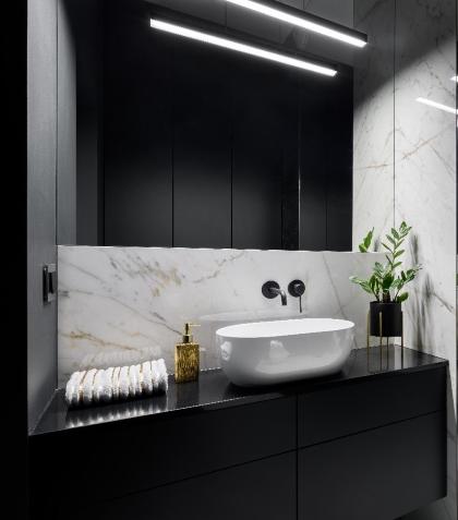 Mała łazienka w nowoczesnym stylu (4)