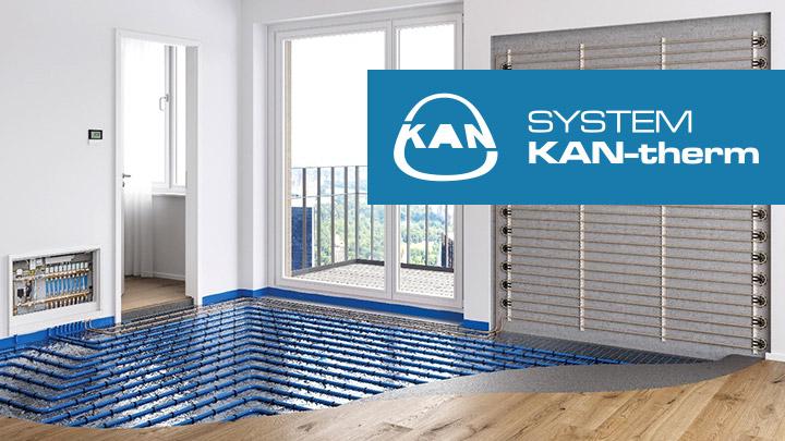 Instalacja ogrzewania podłogowego KAN-therm