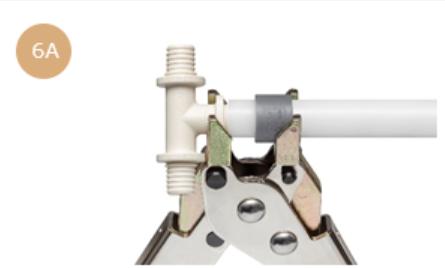 Technika łączenia rur w systemie KAN-therm UltraLine 6a