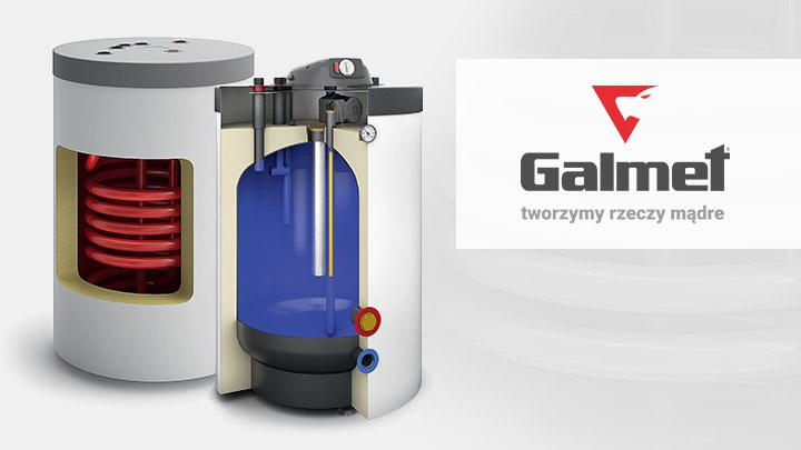 Zbiorniki Galmet do kotłów gazowych