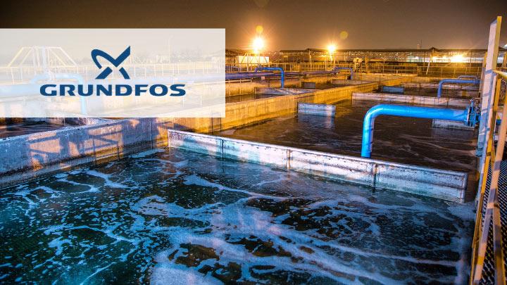 Ponowne użycie wody przemysłowej - Grundfos