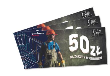 Onninen Express - 50 zł na zakupy w Onninen