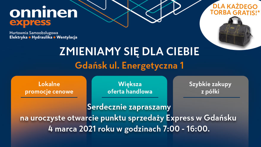 Onninen Express Toruń - Uroczyste Otwarcie! 1