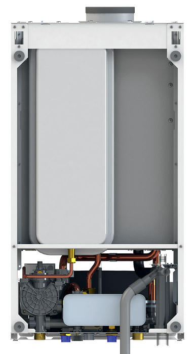 Kotły kondensacyjne Onnline 2019 - budowa - tył