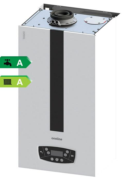 Kotły kondensacyjne Onnline 2019 - klasa energetyczna A