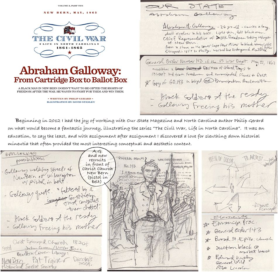 Abraham Galloway and the Winds of Change - Our State