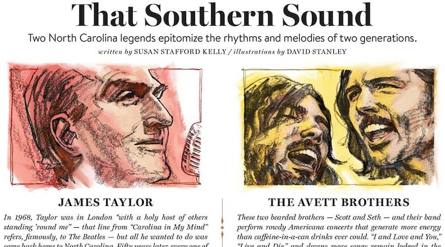 THAT SOUTHERN SOUND Portfolio Cover
