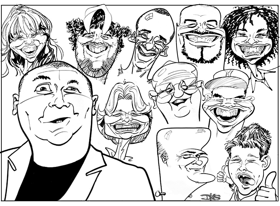 Live Caricatures for Events
