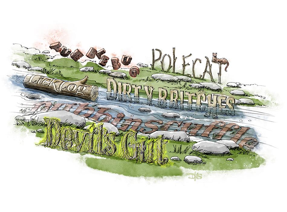 North Carolina Creek Names
