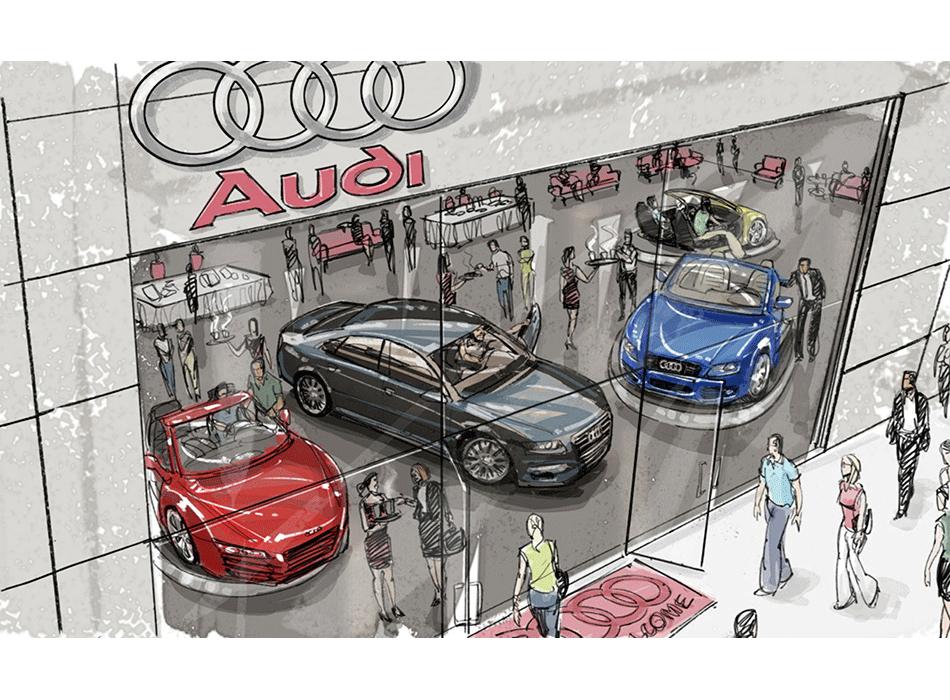 Audi Experience Cafe