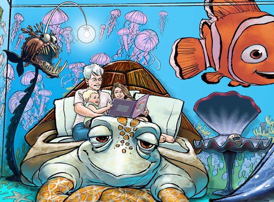Nemo Room up close