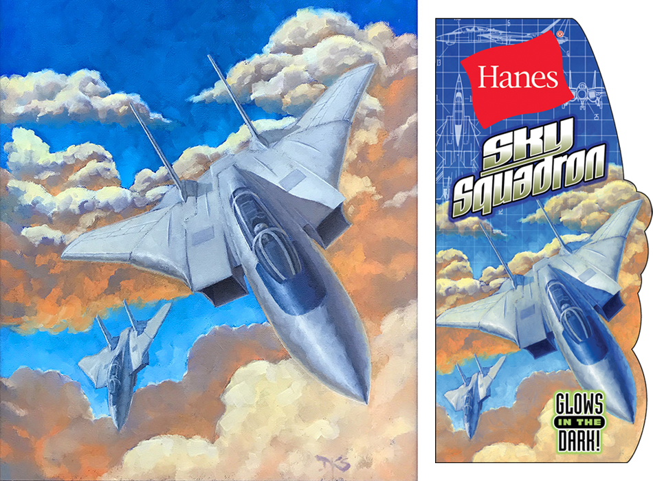 Hanes - Sky Squadron