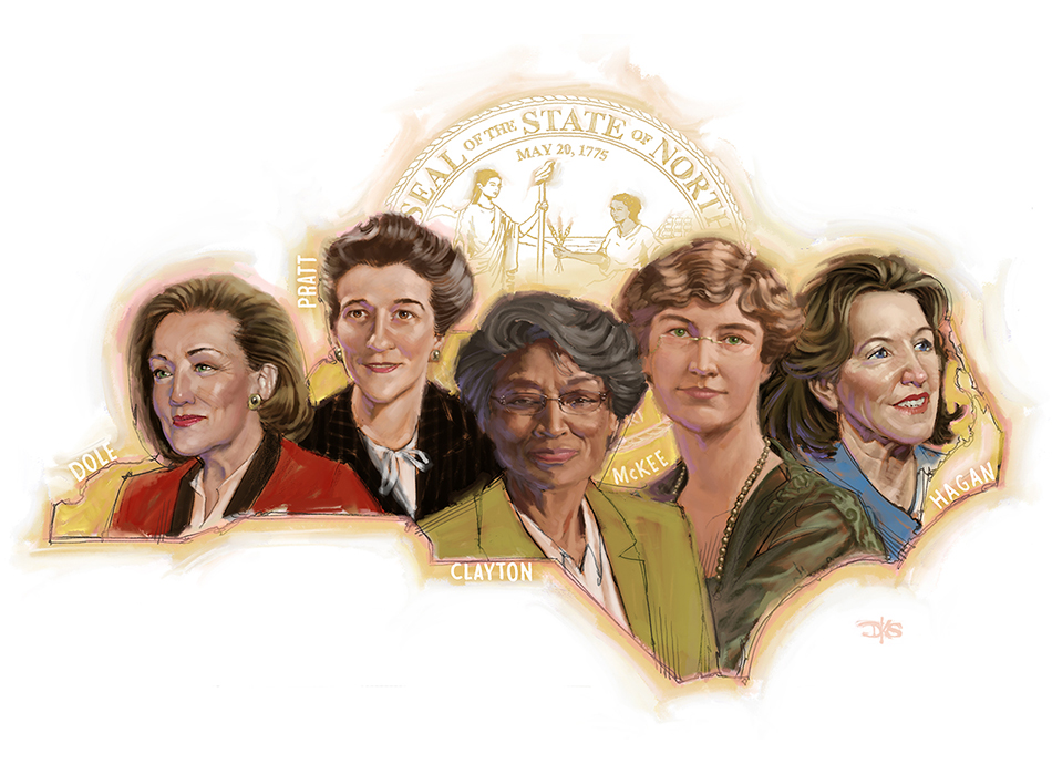 North Carolina Women in Government
