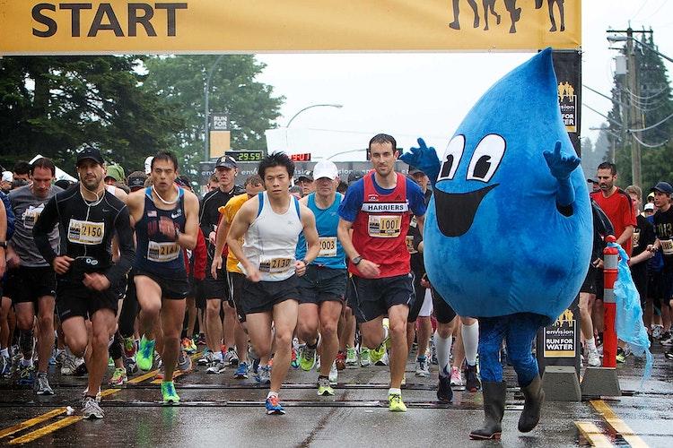 10K Run start