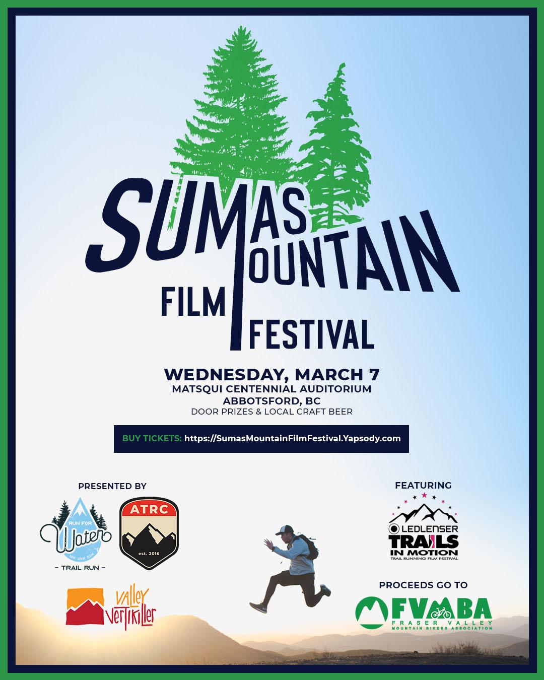 Sumas Mountain Film Festival, Wednesday, March 7