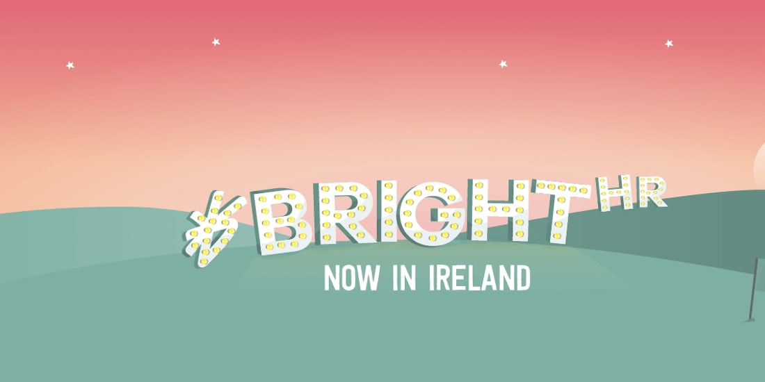 Big news: BrightHR's landed in Ireland hero image