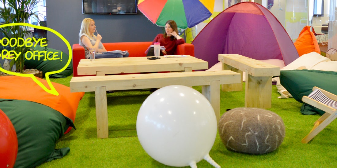 Wellbeing in workplace design: Thinking Space hero image