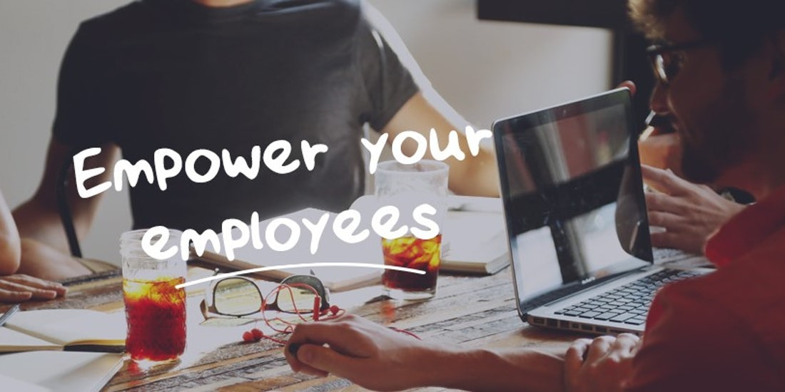 5 ways to empower your employees hero image