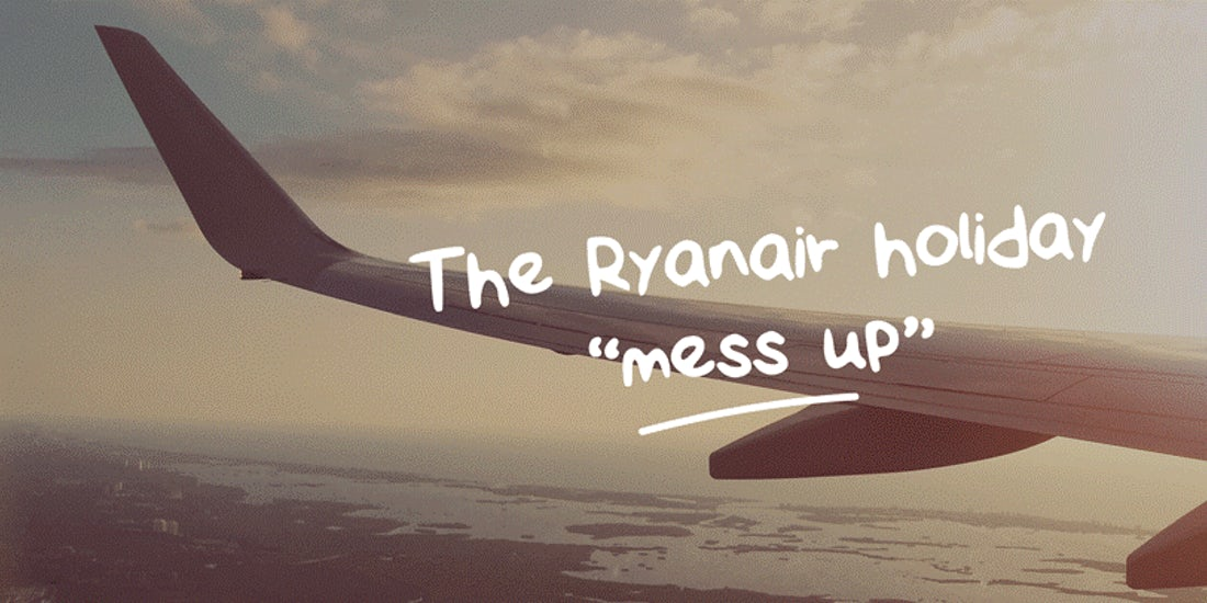 What businesses can learn from Ryanair's holiday calamity hero image