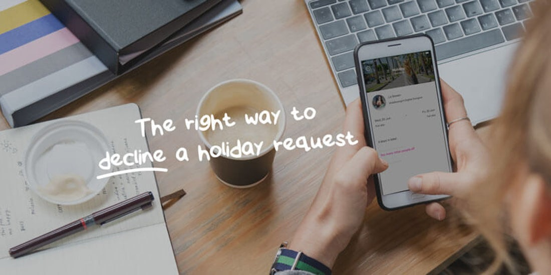 Refusing holiday requests is easier than you think hero image