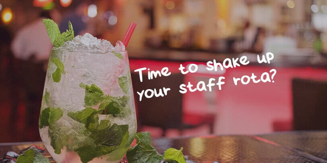 Why creating your staff rota is like making the perfect cocktail hero image