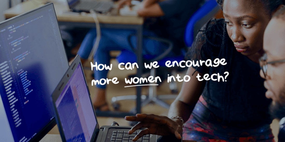 How can we encourage more women into tech? hero image
