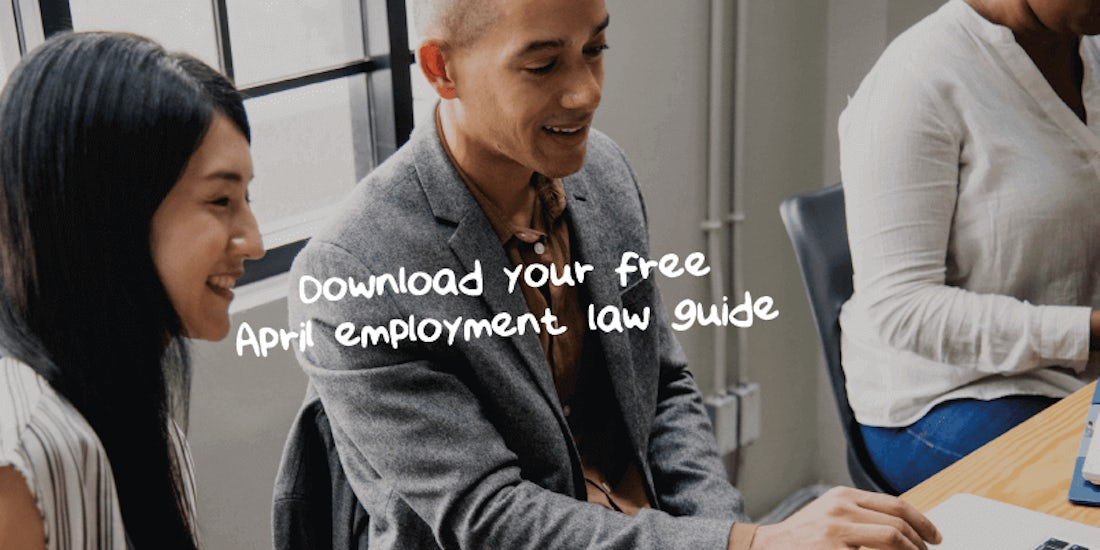 Download your free April employment law guide hero image