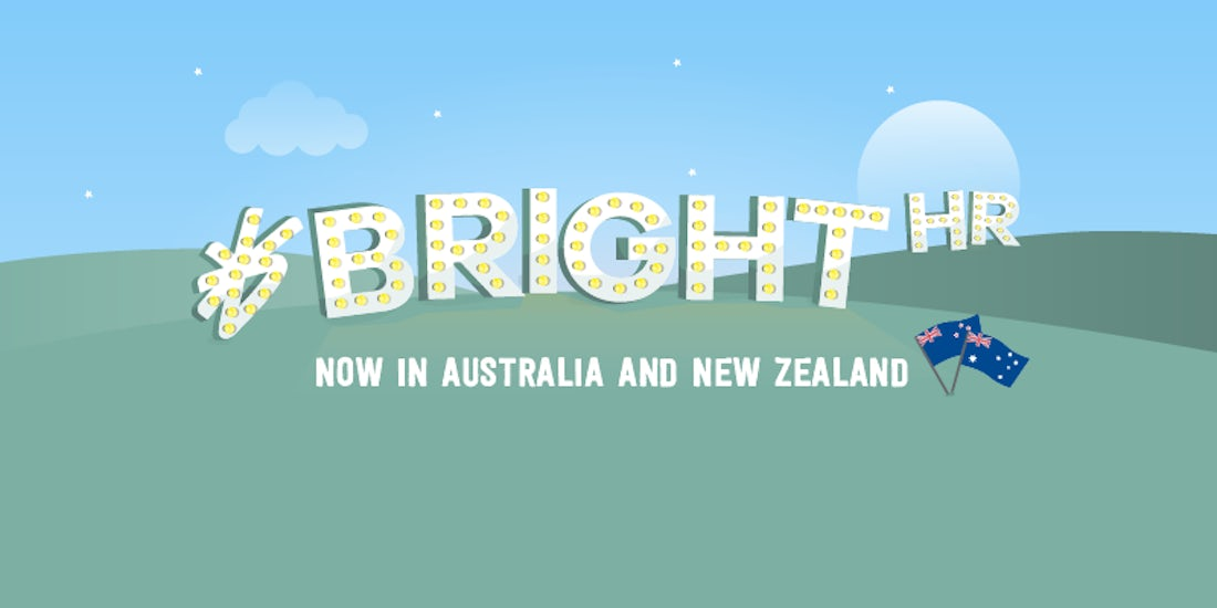 We did it! BrightHR's landed in Australia and New Zealand hero image