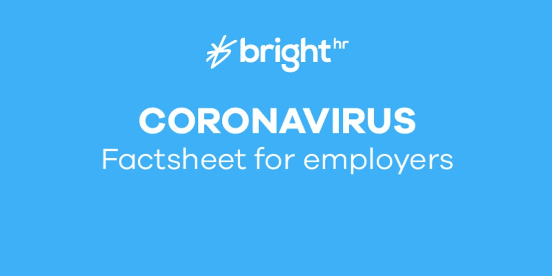 Coronavirus factsheet for employers hero image