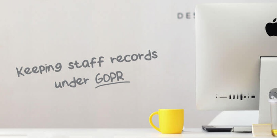 How long should I keep staff records for under GDPR? hero image