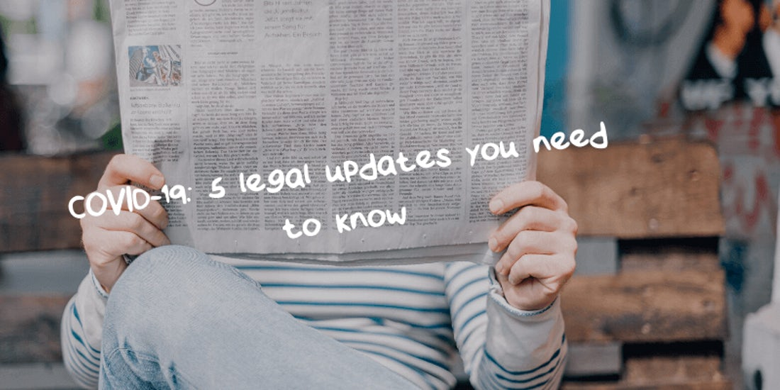 COVID-19: 5 legal updates you need to know hero image