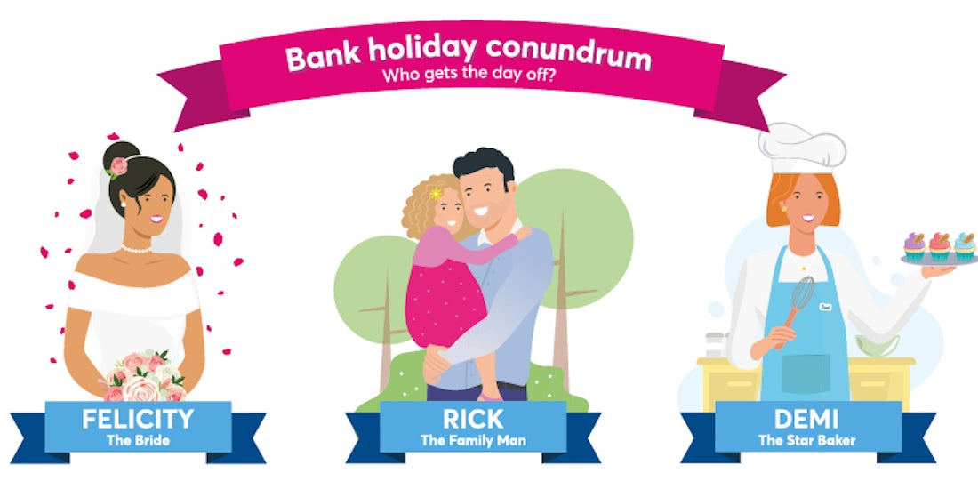 August bank holiday conundrum: Who should get the day off?  hero image