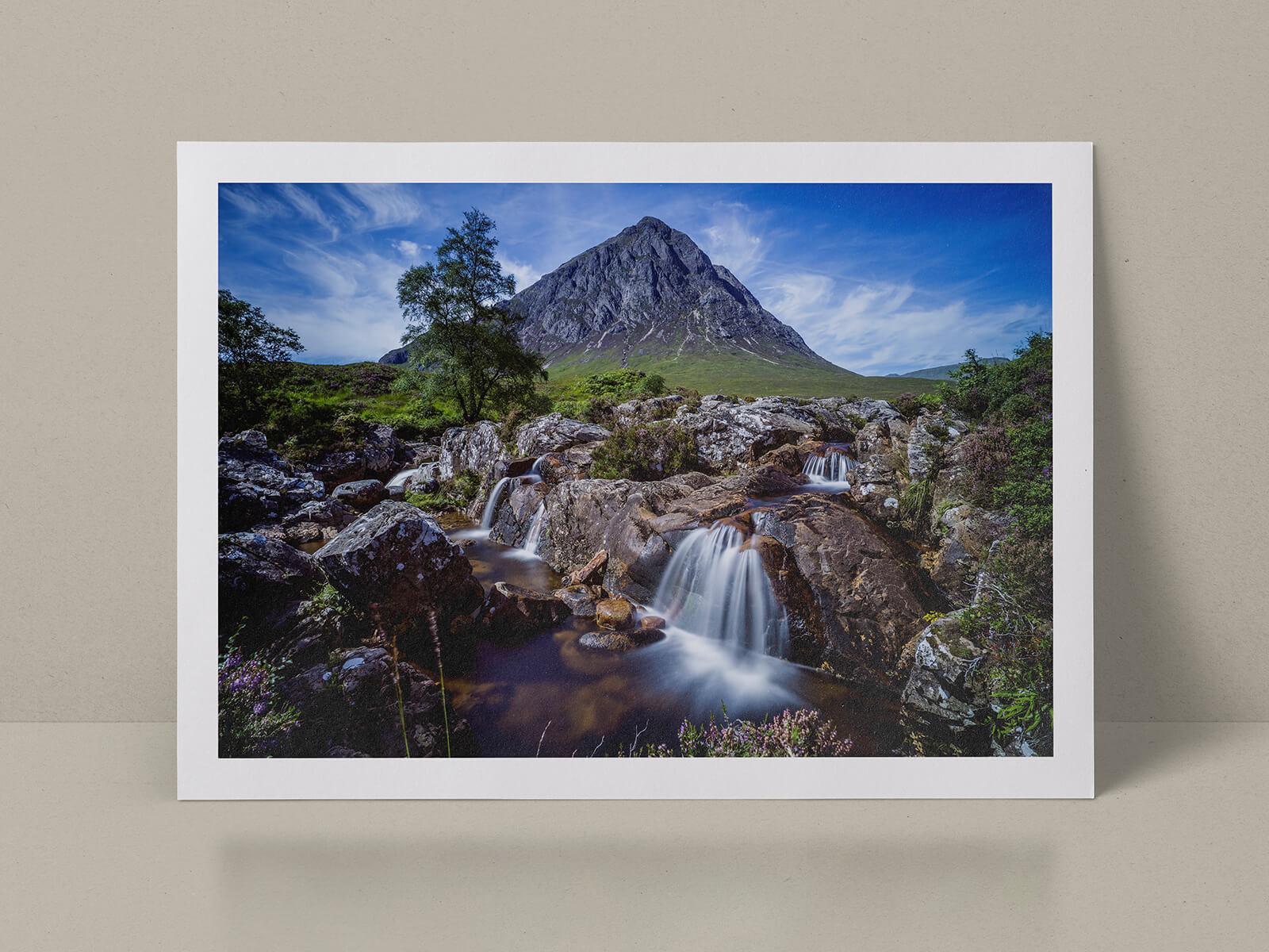 Photoscoper landscape in Scotland