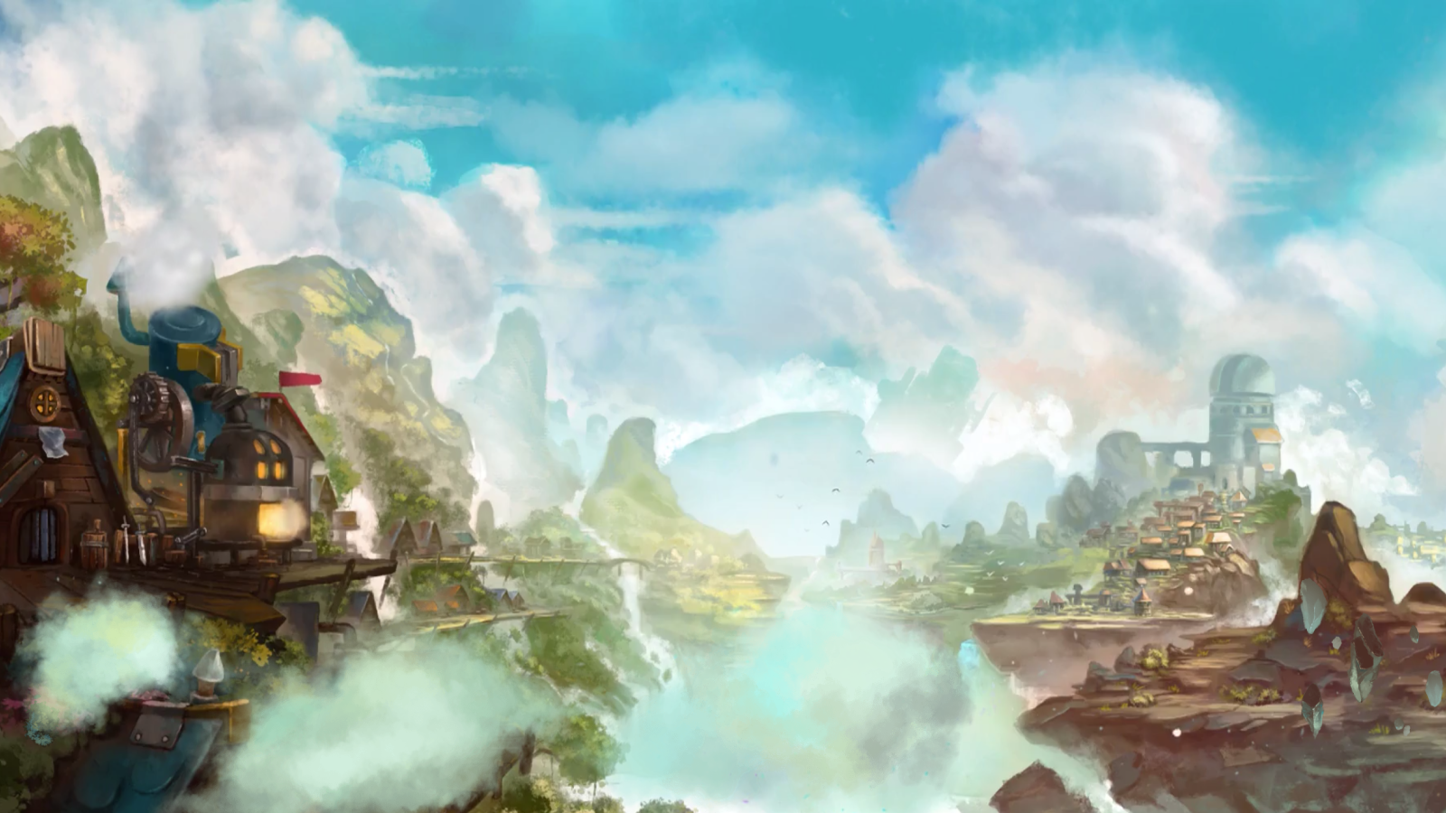 EmberSword matte painting hero image